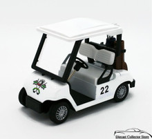 Golf Cart - Approx. Size 1:18 Scale Diecast with Pull Back Action FREE SHIPPING