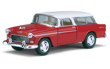 1955 Chevrolet Nomad KINSMART Diecast 1:40 Scale Red & White