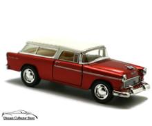 1955 Chevrolet Nomad KINSMART Diecast 1:40 Scale O Gauge Metalic Brown