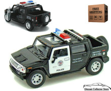 2005 Hummer H2 SUT POLICE Kinsmart Diecast 1:40 Scale FREE SHIPPING