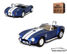 1965 Shelby Cobra 427 SC KINSMART Diecast 1:32 Scale Blue FREE SHIPPING