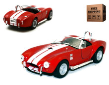 1965 Shelby Cobra 427 SC KINSMART Diecast 1:32 Scale Red FREE SHIPPING