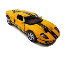 2006 Ford GT KINSMART Diecast 1:36 Scale Yellow