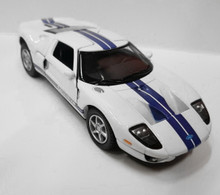2006 Ford GT KINSMART Diecast 1:36 Scale White FREE SHIPPING