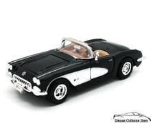 1959 Chevrolet Corvette  MOTORMAX Diecast 1:24 Scale Black