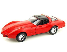 1979 Chevrolet Corvette MOTORMAX Diecast 1:24 Scale - Red