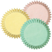 Baking Cups Assorted Pastel Colors