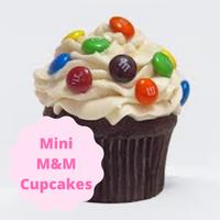 [M&M Rainbow Cupcakes]