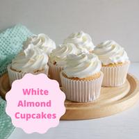 [Cupcakes White Almond Flavor]