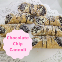 Cannoli is an Italian tradition loved by all! Try some for your next party. We fill the cannolis fresh before you pick up your order so you won't get a soggy cannoli. Bring some to the next party. I'm sure they will disappear instantly. Ask for the shells and filling to be sold separately if you would like to fill your own at your convenience. Filling is creamy with mini chocolate chips mixed in.