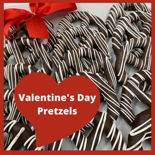 A combination of crispy and creamy, milk chocolate covered salted pretzels are guaranteed to please.