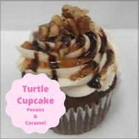 [Cupcake Gourmet Chocolate Turtle]