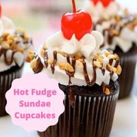 [Cupcake Gourmet Hot Fudge Sundae]