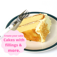 [Cakes Created with Fillings & More!]