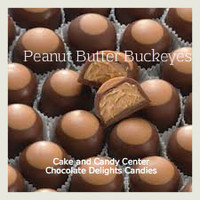 Buckeyes Chocolate Peanut Butter Candies: Buckeyes milk chocolate and peanut butter candies are an Ohio favorite.