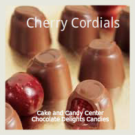Cherry Cordials in creamy dark chocolate. A favorite of many for so long. These are presented for gift giving!  Available in milk or dark chocolate.