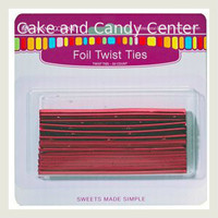 Twisties-Red Metallic