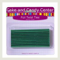Twisties-Green Metallic