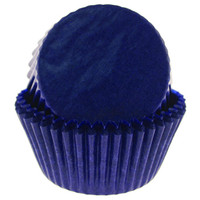 Royal Blue Baking Cups