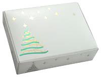 1/4 lb. Xmas Tree Fold Up Box