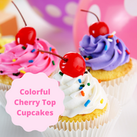 [Cherry Topped Cupcakes]