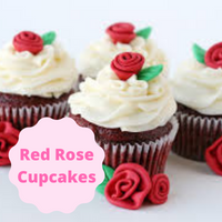 [Red Rose Cupcakes]