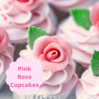 [Pink Rose Cupcakes]