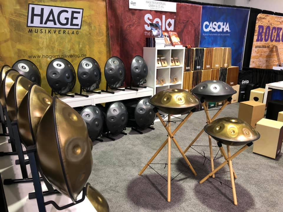Sela Booth at NAMM 2020