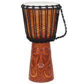 "Mother Earth Djembe Drum, 10"" Head x 20"" Tall"