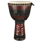 "X8 Drums Ruby Pro African Djembe, 13-14"" Head"