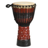 "X8 Drums Ruby Pro African Djembe, 10"" Head"
