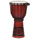 X8 Drums Celtic Labyrinth Djembe, 10 inch x 20 inch