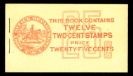 # 498e BK58  COMPLETE BOOK, SUPERB in all regards, panes are perfectly centered,  GEM BOOKLET!