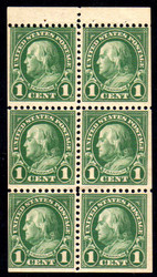 # 632a F/VF OG NH, Booklet Pane, Nice! (Stock Photo - You will receive a comparable stamp)