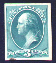 # 207 P4 SUPERB proof on cardboard, stain