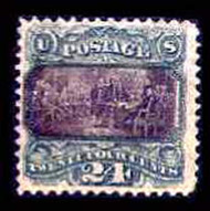 # 120 VF, no gum, w/PSE (4/01) CERT, very fresh with terrific color