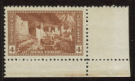 # 743 XF JUMBO OG NH, corner margin single.  Large even margins,  GEM!