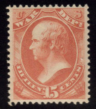 #O 90 VF/XF OG NH, w/PSE (GRADED 80 (11/05)) CERT, Super tough to find well centered and NH.  A super stamp!