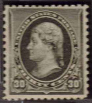 # 228 VF/XF OG NH, w/PSE (GRADED 85, ENCAPSULATED), very fresh well centered stamp, Scarce this nice