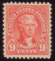 # 561 SUPERB OG NH, super stamp with perfect color and nice large margins, Choice!