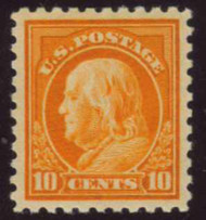 # 472 SUPERB OG VLH, w/PSE (GRADED 98 (09/06)) CERT,  a wonderful stamp with bright fresh color and the elusive grade of 98.  Nice neat gum side with a VLH mark.  THE HIGHEST GRADE only 1 other compares!  Super!