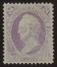 # 153 XF OG H, w/PSE (GRADED 80 (07/07)) CERT,  a fabulous stamp with deep rich color, which is uncommon on this issue.  The centering is very nice as  these do not come much better,  SHOWPIECE!
