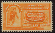#E 3 VF/XF OG NH, w/PSE (GRADED 85+ (06/07)) CERT,  a very nice stamp with terrific color and nicely centered.  The early Special Deliveries are tough to find much nicer.  SELECT!