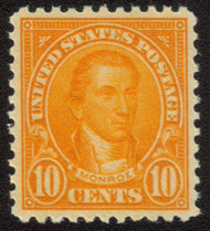 # 562 XF-SUPERB OG NH, w/PSE (GRADED 95 (10/07)) CERT,  bright fresh color,  the 10c is one of the tougher stamps in the series to find well centered,  Choice!