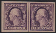 # 483 VF/XF OG NH, Line Pair, w/PSE (03/04) CERT,  nice position pair!