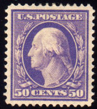 # 341 XF-SUPERB OG LH, w/PSE (GRADED 95 (09/03)) CERT,  large margins seldom seen on this issue.  Fresh!