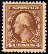 # 334 XF JUMBO OG NH, w/PSE (GRADED 90  - JUMBO (09/03)) CERT,  Boardwalk margins all around.  SHOWPIECE!