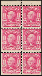 # 319n VF OG NH, Carmine Rose, nice and fresh, Choice!