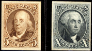 #   3P4 - 4P4 SUPERB, proof on card, large margins and super fresh color, SHOWPIECE!