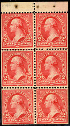# 279Bj VF/XF OG NH, one of the finer 279B's we have handled,  this is notoriously off centered, VERY FRESH!